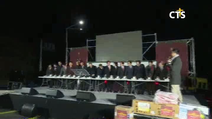 제주시, 서귀포시 성탄트리점등 연합예배